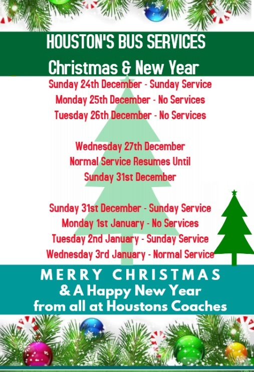 christmas new year bus services - Houston Christmas Decorating Service